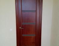 Двери из массива сосны с вставками из качественной влагостойкой фанеры