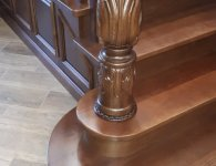 Готовая лестница по 3D проекту - фото 3