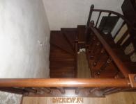Лестница из дуба на металлический каркас - фото 10