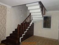 Лестница из дуба на металлический каркас - фото 4
