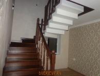 Лестница из дуба на металлический каркас - фото 2