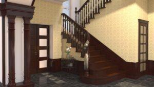 3D проектирование лестницы фото 1