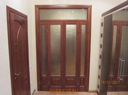 Межкомнатные деревянные двери фото 1